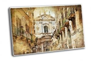 Итальянская улочка старого города