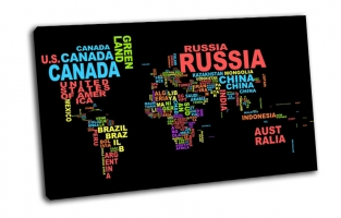 Карта мира, страны