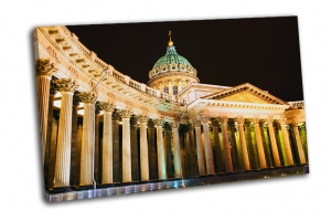 Казанский собор ночной