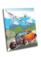 Хотрод и летающая машина