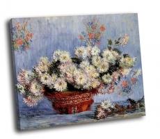 Клод Моне - Хризантемы