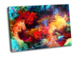Красочные фрактальные огни