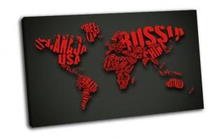Креативная карта мира
