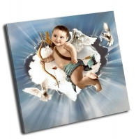 Купидон с крыльями ангела