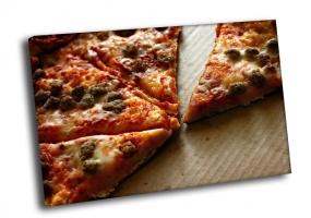 Кусочки пиццы