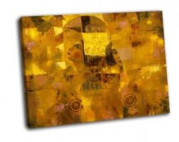 Лица в золотом цвете