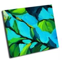 Листья на фоне голубого неба