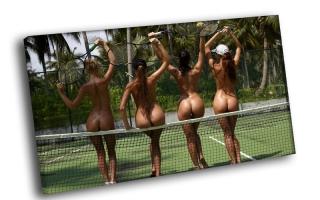 Любительницы большого тенниса