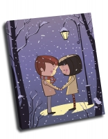 Любовь под фонарем