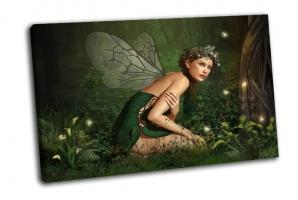 Маленькая фея на камне