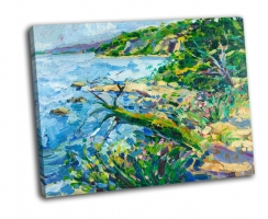 Масляная живопись, побережье