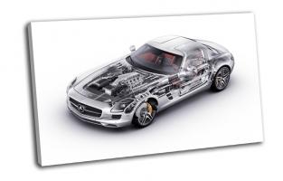 Mercedes Benz, sls, внутренности