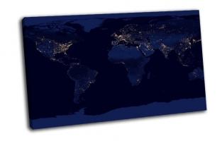NASA, планета, земля, ночь