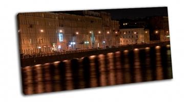 Ночная фонтанка