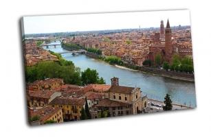 Панорамный вид на Верону Италия