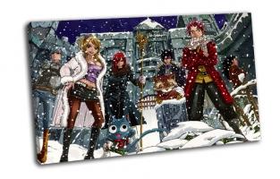 Парни, девушки, снег