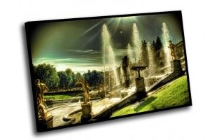 Петродворец, фонтаны