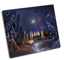 Путешествие через зимний лес