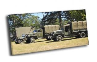 Ретро армейские грузовики
