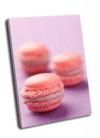 Розовые пирожные