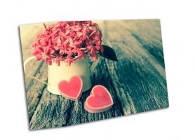 Сердце и цветы