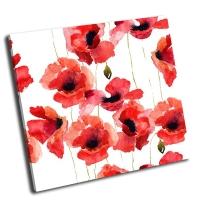 Стилизованные цветы мака-2
