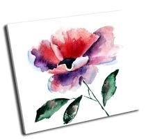 Стилизованный цветок мака