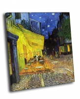 Ван Гог - Ночная терраса кафе (1888)