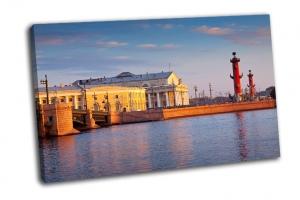 Васильевский остров в летний день