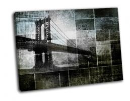 Вдохновленный мост в Нью Йорке