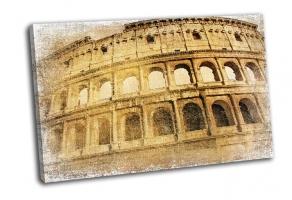Великий Колизей в стиле ретро