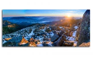 Великолепная панорама восход