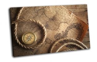 Веревка, компас