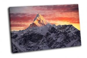 Вершина Ама-Даблам в Гималаях