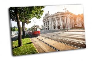 Вид из знаменитой Венской Рингштрассе