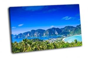Вид на тропический остров с Пхи-Пхи