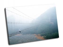 Висячий пешеходный мост