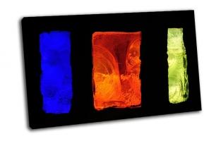 Витраж-цветные прямоугольники
