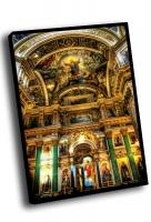 Внутренняя роспись Исаакиевского собора