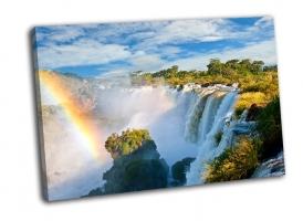 Водопад Игуасу-вид с Аргентинской стороны