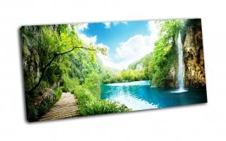 Водопад в глухом лесу, Хорватия