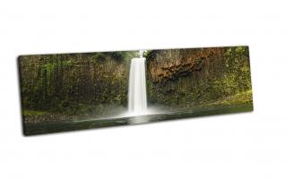 Водопад в тропических лесах Орегона