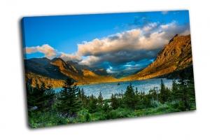 Восход над озером Святой Марии