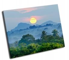 Восход  в джунглях Шри-Ланки