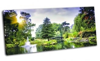 Японский мост в ботаническом саду