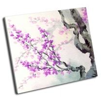 Яркие фиолетовые цветы