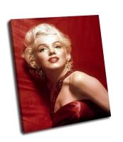 Ярко красное фото Мерелин Монро