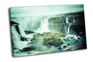 Захватывающий водопад в мире Игуасу