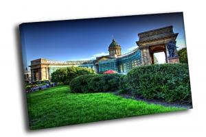 зеленый Казанский собор