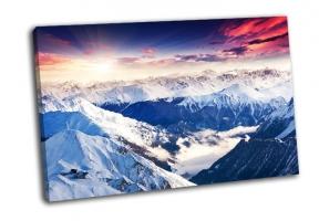Зимний пейзаж в Австрии